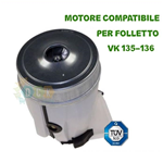 Motore Vorwerk Vk135 136 Folletto Commerciale Compatibile