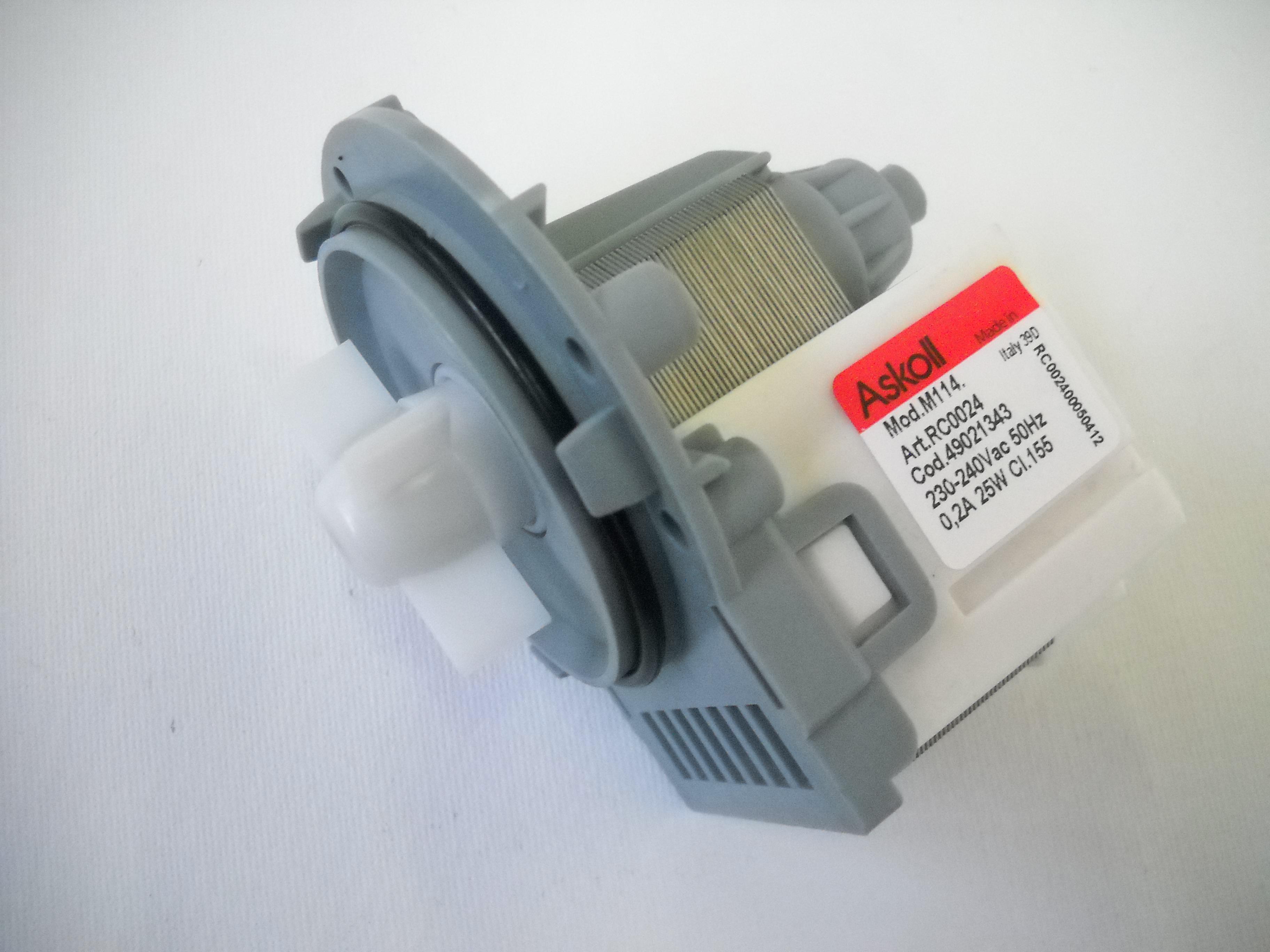 Pulire Pompa Scarico lavatrice